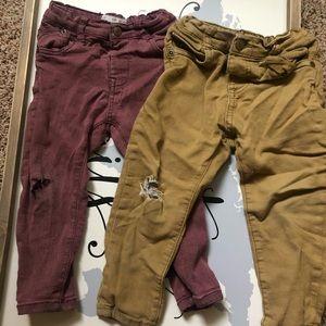 Zara jeans 12-18M